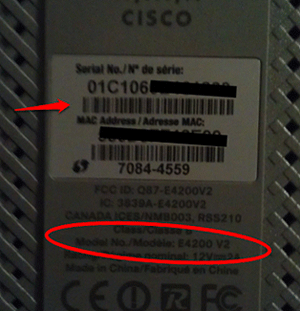 cisco-e4200-v2-identifiers