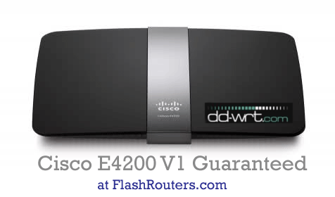 E4200 V1 Routers For Sale - Buy One with DD-WRT already Installed