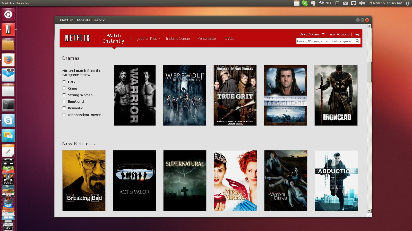 Any way to make my Netflix stream Standard Definition INSTEAD OF High Definition