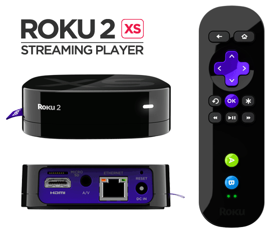 The Roku 2 XS
