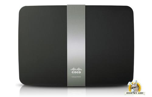 Linksys Cisco E4200 DD-WRT VPN HideMyAss Router