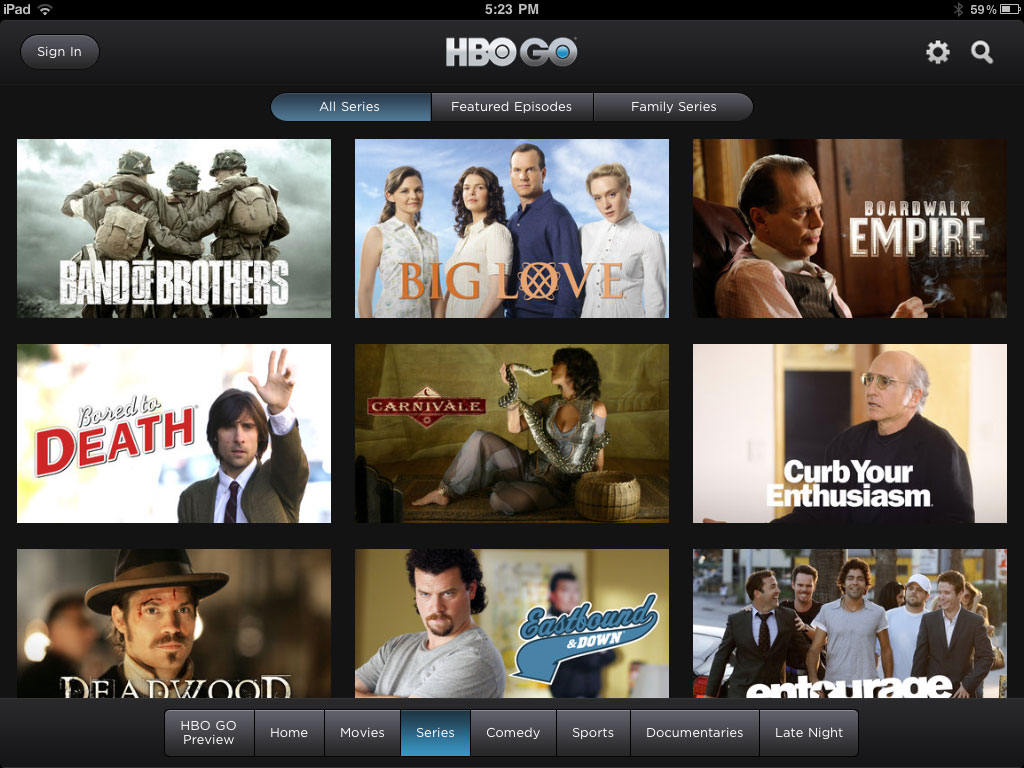 Watch TVs all-time greats on HBO Go, including the new season of Game of Thrones