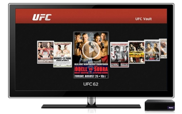 Watch the best quality streaming MMA with UFC on Roku