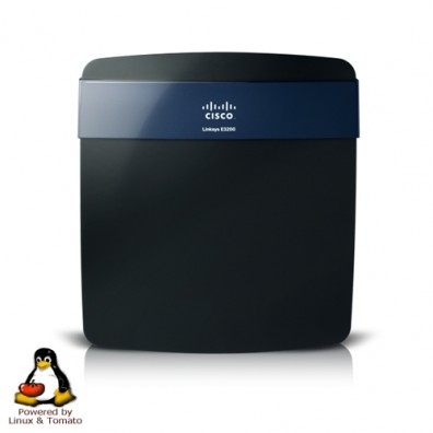 The Brand New Cisco Linksys E3200 Tomato FlashRouter