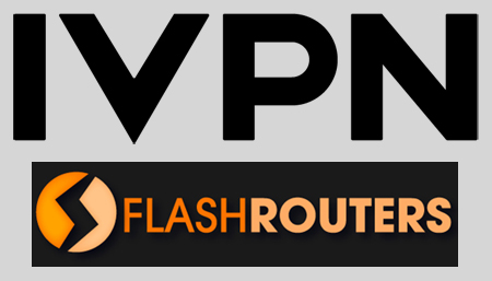 FlashRouters now supports IVPN, one of the leaders of online privacy for foreign journalists and dignitaries.