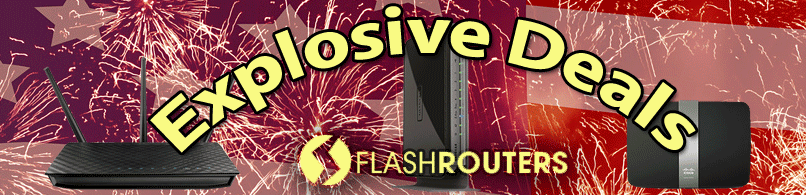 Save all July on FlashRouters premium upgraded DD-WRT & Tomato Devices
