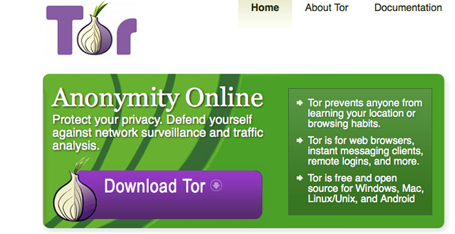 Tor: Anonymity Online