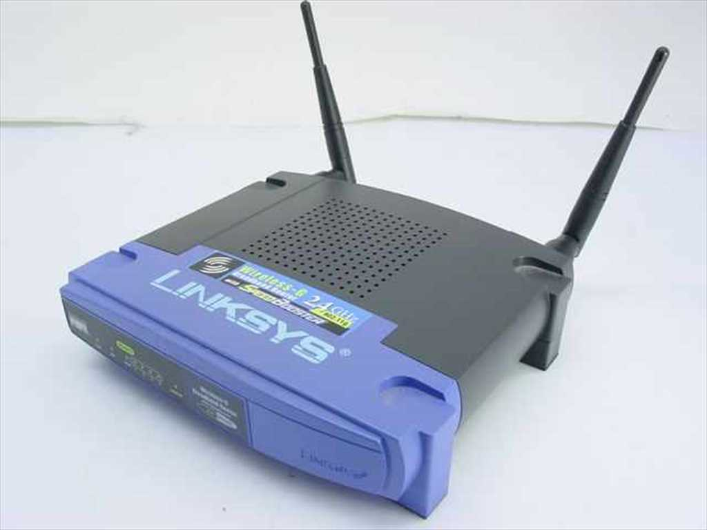 The Old Linksys WRT54g
