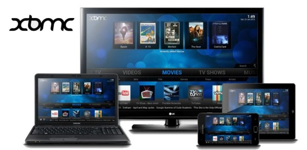 Use XBMC Media Sharing interface on All Your Device