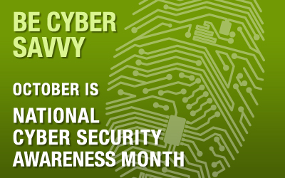 It's National Cyber Security Month