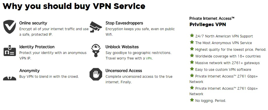Why you should buy VPN service
